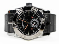 Roger Dubuis Watch - Easy Diver Black Dial White Gold Bezel - Legend of Time Chicago Watch Center www.Legendoftime.com