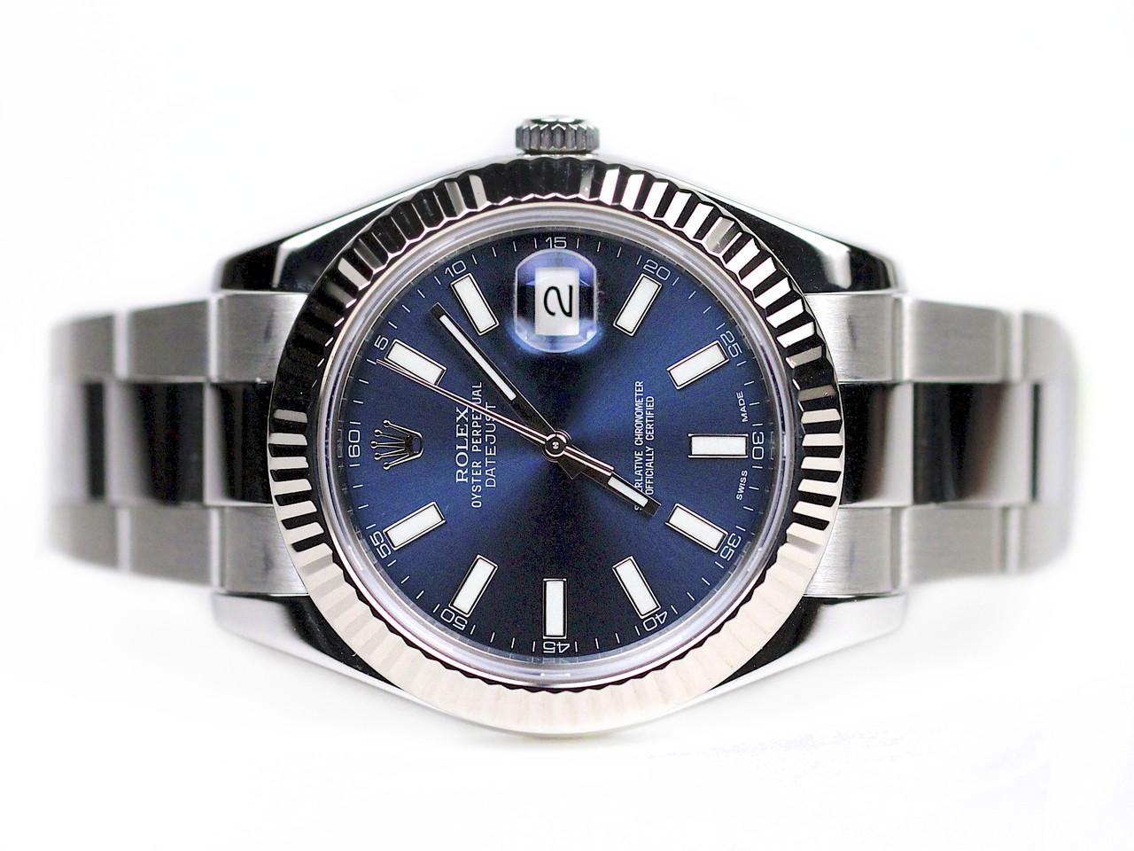 Rolex Datejust Ii Blue Dial