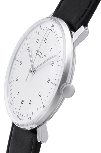 junghans watch 027 3500 max bill automatic matt silver. Black Bedroom Furniture Sets. Home Design Ideas