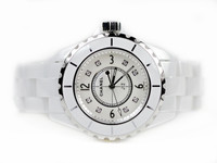 Chanel Watch - J12 White Ceramic 33mm Quartz H2422 - Legend of Time - Chicago Watch Center