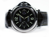 Panerai Watch - Luminor Marina Automatic Acciaio 44mm PAM 104 (PAM00104) - Legend of Time - Chicago Watch Center