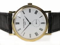 Patek Philippe Watch - Calatrava Yellow Gold 5119J-001 - for sale online www.Legendoftime.com and in store Chicago Watch Center