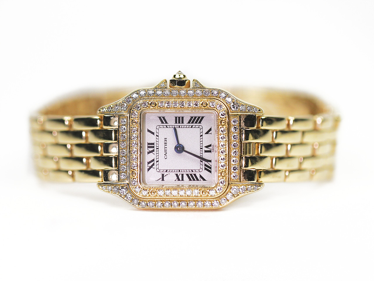 used panther gold cartier legend sale collection diamonds diamond panthere center chicago of yellow online for time watch watches