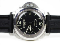 Pre-Owned Panerai Watch - Luminor 1950 8 Days GMT Acciaio PAM00233 - for sale online and instore Legend of Time - Chicago Watch Center