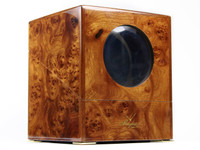 New Breguet Watch Winder - Beautiful Deep Burlywood for sale online www.legendoftime.com and in store Legend of Time - Chicago Watch Center