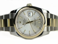 Rolex Watch - Datejust 116203 Steel Yellow Gold - available online www.Legendoftime.com & in store Legend of Time - Chicago Watch Center