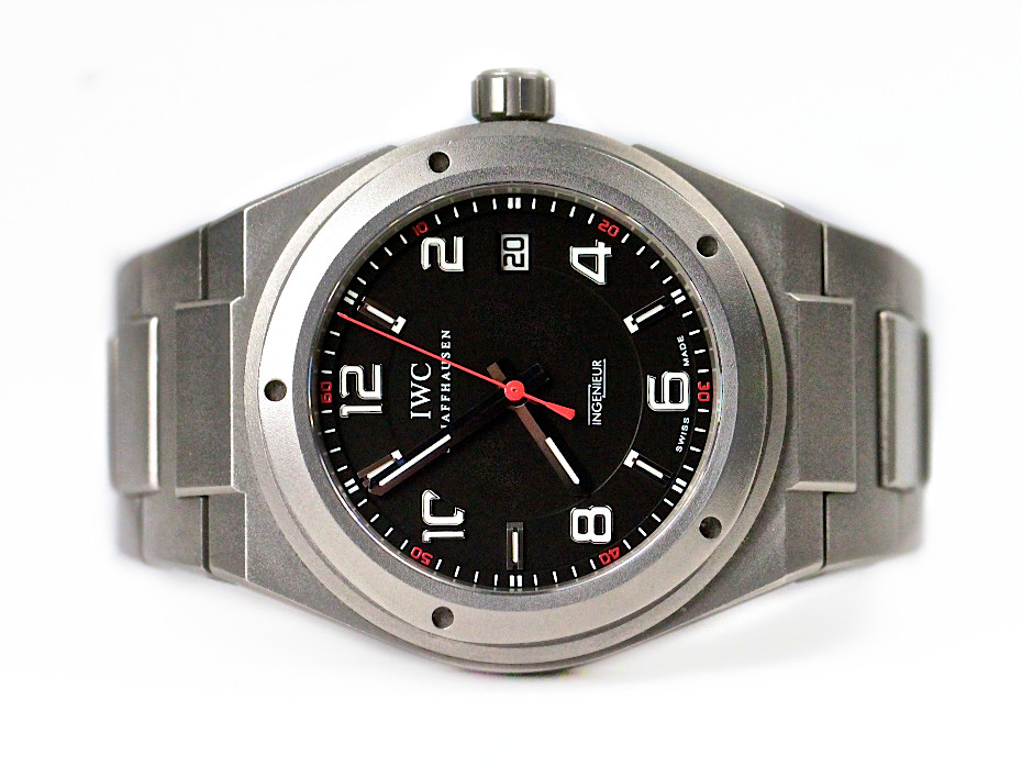 used iwc watch ingenieur automatic amg titanium iw322702. Black Bedroom Furniture Sets. Home Design Ideas