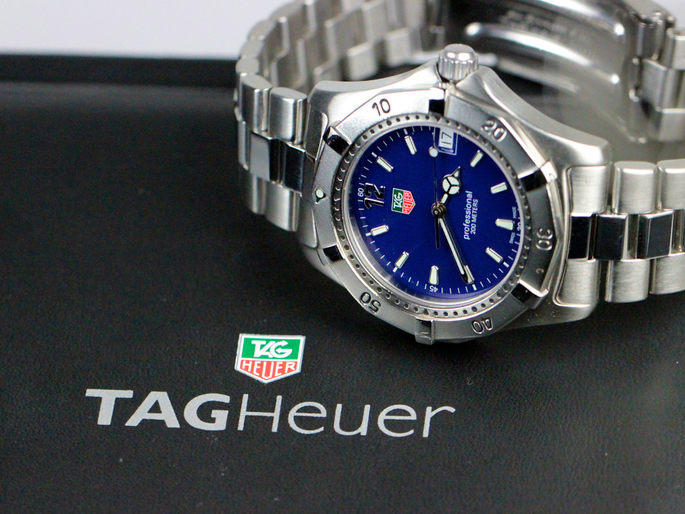 For sale Tag Heuer Watch Professional Classic 200 reference # WK1113.BA0311, used serviced with box, available online www.Legendoftime.com and in store Chicago Watch Center