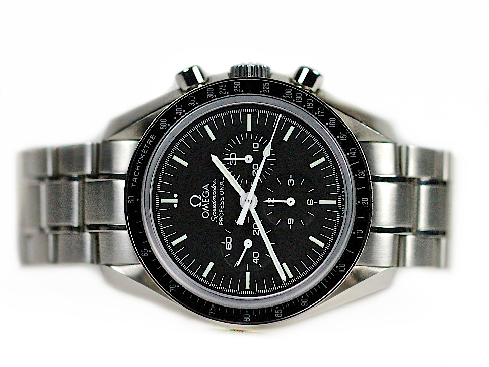 dial image axial chronograph moonwatch speedmaster omega black cera co watches