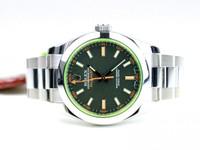 Rolex Watch - Milgauss Green Sapphire Crystal