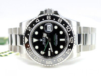 Rolex Watch - GMT Master II Steel