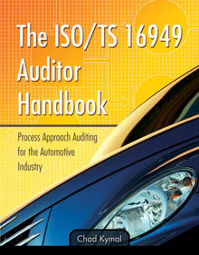 The ISO/TS 16949 Auditor Handbook