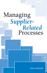 Managing Supplier-Related Processes
