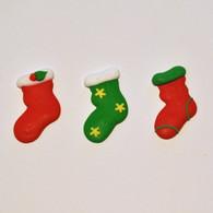 Royal Icing Christmas Stockings (25 per box)