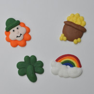 "1.5"" Royal Icing St. Patrick's Day Assortment (15 per box)"
