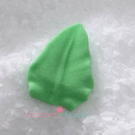 "3/4"" Royal Icing Rose Leaves - Small - Green (quanity 20)"