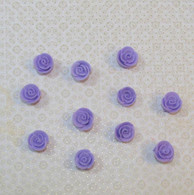 ".5"" Mini Classic Royal Icing Rose - Lavender (10 per box)"