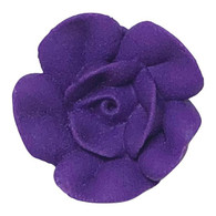 "1"" Royal Icing Rose - Medium - Purple (20 per box)"