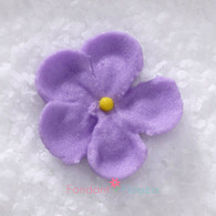 """7/8"""" Royal Icing Forget-Me-Not - Small - Lavender (quanity 20)"""