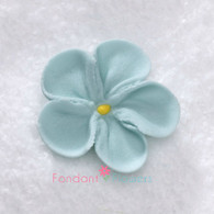 """1-1/2"""" Royal Icing Forget-Me-Not - Medium - Pastel Blue (quanity 20)"""