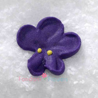 "7/8"" Royal Icing Violet - Small - Purple (quanity 20)"