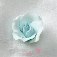 "1-1/2"" Formal Rose - Pastel Blue (Sold Individually)"