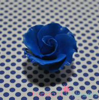 "1-1/2"" Formal Rose - Royal Blue (Sold Individually)"
