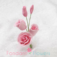 "2-1/2"" Rose Filler - Mini - Pink (Sold Individually)"
