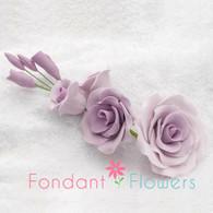 """5"""" Rose Filler - Large - Lavender (Sold Individually)"""
