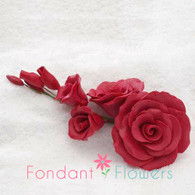 """5"""" Rose Filler - Large - Red (Sold Individually)"""