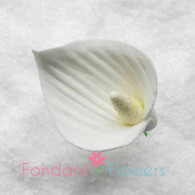 "1"" Calla Lily - Small - White (10 per box)"
