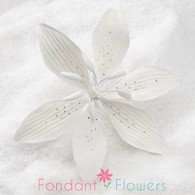 """3.5"""" Stargazer Lily - Large - White (Sold Individually)"""