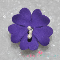 "1.25"" Fruit Blossom - Purple (10 per box)"