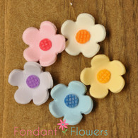 "1"" Blossoms - Medium - Assorted (10 per box)"