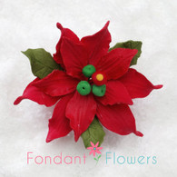 "2.5"" Poinsettia - Small - Red (Sold Individually)"