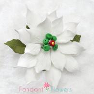"3.5"" Poinsettia - Medium - White (Sold Individually)"