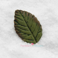 "1.25"" Rose Leaves - Small - Green (10 per box)"