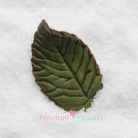 "1.75"" Rose Leaves - Medium - Green (10 per box)"