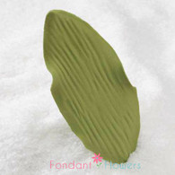 "3.5"" Orchid Leaves - Large - Green w/ Wire (10 per box)"