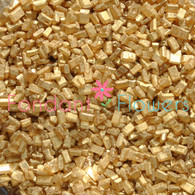 Gold Sugar Crystals (pearlized) (2 ounces)
