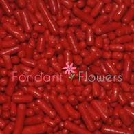 Red Jimmies Sprinkles (2 ounces)