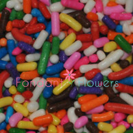 Rainbow Jimmies Sprinkles (2 ounces)