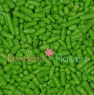 Lime Green Jimmies Sprinkles (2 ounces)