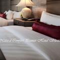 Natural Comfort Premier Hotel Sheet Set in PIN Stripe Pattern