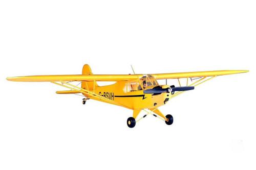 """FMS Piper J3 Cub V2 Yellow 1410mm (55.5"""") Wingspan RTF"""