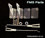 FMScessna flap/ airron control rob and clip pack