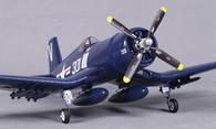 FMS 4CH Blue Mini F4U Corsair V2 RC Warbird WITH 2.4G  transmiter & receiver