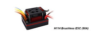 Brushless ESC    H114 Brushless ESC (80A)