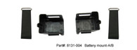 Battery mount-A/B    Part#:8131-004Battery mount-A/B