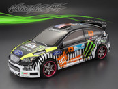 FORD FOCUS Finished PC Body RTR